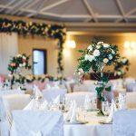 mesa de banquete de bodas